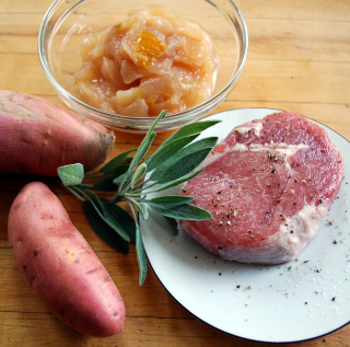 pork-pear ingredients