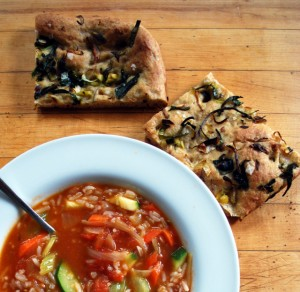 foccacia and soup 2